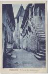 AK Reutlingen Partie an der Stadtmauer 1929