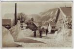 AK Foto Wintersportplatz Pfronten Ortsansicht im Winter 1933