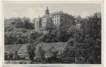 AK Foto Gera Schloss Osterstein mit schönem Werbestempel 1937