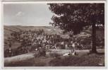 AK Foto Wurzbach in Thüringen Blick von der Haidekoppe 1942