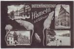 AK Mehrbild Rattenfängerstadt Hameln a. d. Weser Osterstrasse Hochzeitshaus Rattenfängerhaus .. 1907