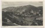 AK Saalfeld an der Saale Ortsansicht mit Bohlen 1920