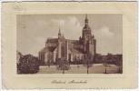 Präge-AK Stralsund Marienkirche 1913