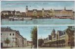 AK Mehrbild Koblenz Coblenzer Hof Ober-Postdirektion Feldpost 1915