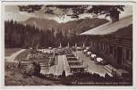 AK Foto Rottach-Egern Alpenwildpark gegen Hirschberg 1937