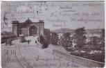 AK Mannheim Rheinbrücke 1908