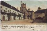AK Würzburg Feste Marienberg Eingang zum Burghof 1900