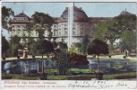 AK Würzburg Kgl. Residenz Gartenseite 1905