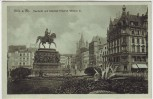 AK Köln am Rhein Heumarkt und Denkmal Friedrich Wilhelm III. 1910