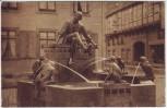 AK Braunschweig Eulenspiegelbrunnen am Bäckerklint 1912