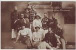 AK Foto Die Söhne und Töchter unseres Kaiserpaares Wilhelm II. Gruppenfoto Adel 1914