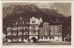 AK Foto Oberstdorf Nebelhornbahn-Hotel 1930