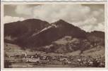 AK Foto Unterammergau Ortsansicht Totale 1940
