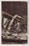 AK Foto Unterammergau Schleifmühlenklamm mit Mühle 1940