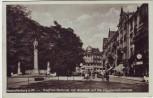 AK Aschaffenburg am Main Siegfried-Denkmal mit Ausblick auf die Hauptverkehrsstraße Feldpost 1940