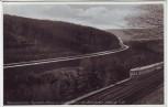 AK Marktschorgast Reichsautobahn Bayreuth-Schleiz u. Schiefe Ebene der Reichsbahn 1940 RAR