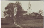 AK Foto Ried (Neuburg an der Donau) Blick auf Kirche 1921 RAR