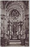 AK Ebrach Inneres der Klosterkirche 1910
