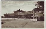 AK Foto Augsburg Hauptbahnhof 1931