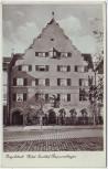 AK Foto Ingolstadt Hotel Gasthof Rappensberger 1936