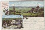AK Riechheim Bauernhaus auf dem Riechheimer Berg mit Gasthof bei Elleben 1907