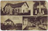 AK Gruß aus Saidschitz Zaječice Bitterwasserquelle bei Hochpetsch Bečov Böhmen Tschechien 1910