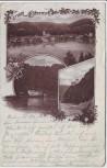 AK Gruss aus Obernzell Totale Gasthaus Krempelstein 1900