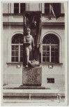 AK Foto Haldensleben Friedensdenkmal 1950 RAR