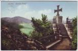 AK Iserlohn Eisernes Kreuz Bahnpoststempel 1913