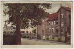 AK Rünthe in Westfalen Schulstrasse mit Menschen bei Bergkamen 1910 RAR
