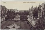 AK Krefeld Crefeld Bismarck-Platz und Denkmal 1910