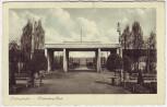 AK Ludwigshafen Hindenburgpark mit Tor 1934