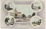 AK Oderberg Bohumín Bahnhof mit Nordbahnstraße 5 Abbildungen Schlesien Tschechien Feldpost 1917 Sammlerstück RAR