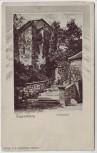 AK Passepartout Elgersburg Schlosshof 1900
