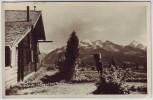AK Foto Erlhofplatte 1400 m mit hohe Tauern bei Zell am See Österreich 1938