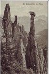 AK Die Erdpyramiden am Ritten bei Bozen Südtirol Italien 1909