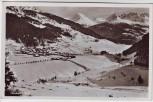 AK Foto Nauders gegen Bergkastl Ortsansicht im Winter Tirol Österreich 1950