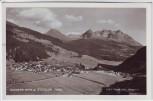 AK Foto Nauders gegen Ötztaler Ortsansicht Tirol Österreich 1950