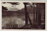 AK Foto Klopeiner See mit Hochobir bei Sankt Kanzian Kärnten Österreich 1962