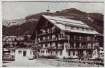 AK Foto Kitzbühel Hotel Tyrol Tirol Österreich 1950