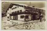 AK Foto Jungholz Berghotel Tirol im Winter Reutte Österreich 1950