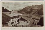 AK Foto Mittelberg Bühlalpe mit Blick auf Ort Vorarlberg Österreich 1953
