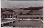 AK Foto Kirchschlag in der Buckligen Welt Strandbad Niederösterreich Österreich 1963