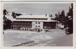 AK Foto Turracher Höhe Hotel Hochschober im Winter Kärnten Österreich 1954
