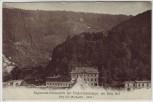 AK Berg Isel Regiments-Schiesstätte der Tiroler-Kaiserjäger Nordseite bei Wilten Innsbruck Österreich 1910