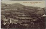 AK Grafendorf bei Hartberg Ortsansicht mit Schloss Kirchberg am Walde Steiermark Österreich 1911