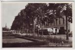 AK Foto Arnhem Arnheim Jansbinnensingel mit Bus Gelderland Niederlande 1950
