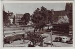 AK Foto Arnhem Arnheim Velperplein mit Autos Gelderland Niederlande 1950