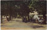 AK Pergine Valsugana Passeggi pubblici Trient Südtirol Italien 1913 RAR