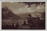 AK Foto Kurhaus Waldheim Mels gegen das Rheintal SG Schweiz 1929